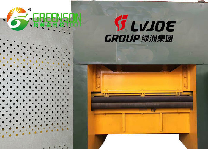 Soundproof Sheet Perforation Machine , Acoustical Gypsum Ceiling Panel Making Machinery
