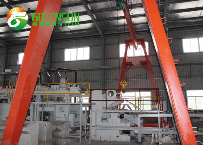 High Frequency 380V Fiber Cement Board Production Line Good Heat And Sound Insulation